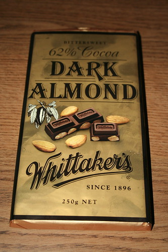 2010-10-27 - Shanghai - Junk Food - 04 - Whittakers Dark Almond Chocolate bar
