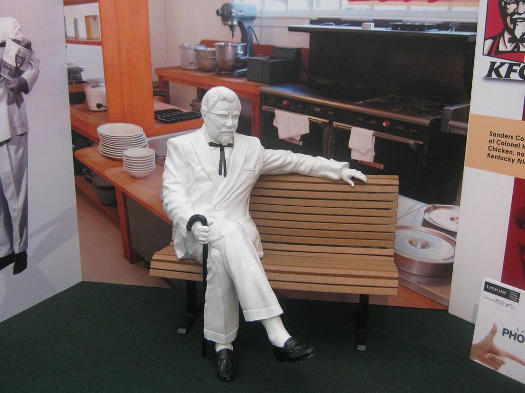 Colonel Harland Sanders Statue