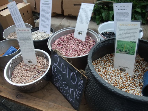 SFO Day 2: Beans at the Ferry Plaza Farmers Market