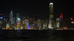 Hong Kong (SLpixeLS) Tags: light buildings hongkong asia nightshot asie nuit aasia lumires skycraper gratteciel kartpostal flickraward earthasia