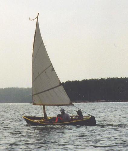 sailboat boat sailing northcarolina lug jordanlake bolger windsprint
