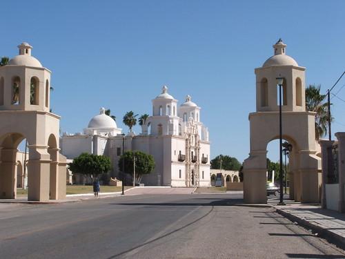 Misión de Caborca por El Funko.