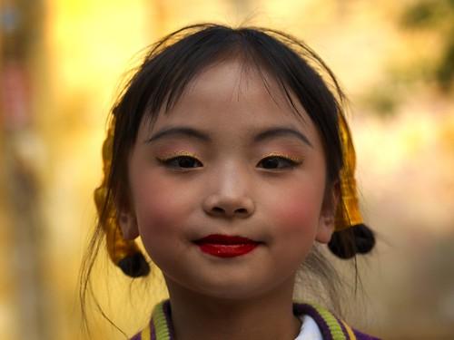Kunming girl - China Yunnan