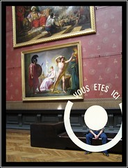 Portrait au musée - by francois et fier de l