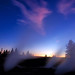 Yellowstone Fumaroles by Twilight - by Fort Photo