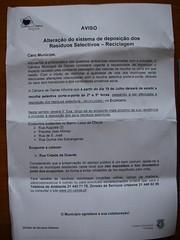 Aviso municipal