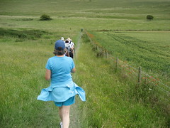 Trailblazers running (Falmer, United Kingdom) Photo
