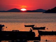 Atardecer en Croacia. (Tales de Mileto) Tags: atardecer mar crepusculo croacia