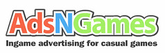 AdsNGames, ingame advertising network for publishers, game developers and advertisers