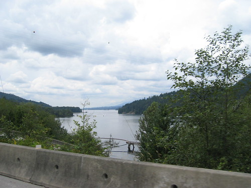 Burrard Inlet from the Barnet Highway