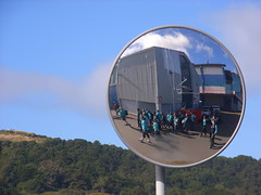 Reflected (anakiwa_forever) Tags: newzealand mirror waterfront wellington guiding girlguides inthelead ourspacenz