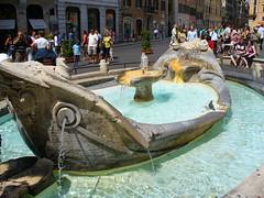 Fontaine della Barcaccia