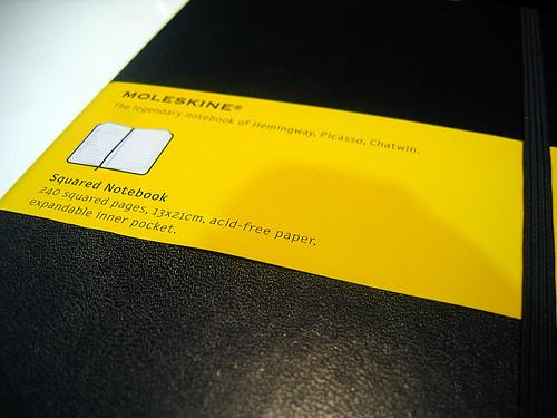 Moleskine Squared Notebook 2