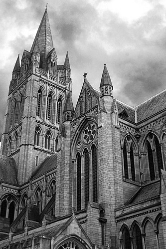 Truro Cathedral Monochrome