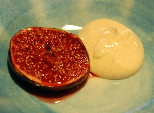 caramelized fig