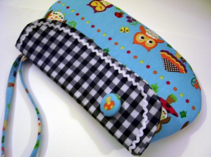 Japanese owls wristlet : Asian iCandy Store, Unique Asian Arts and Gifts From Independent Artists