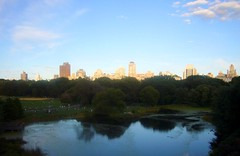 View of Turtle Pond and Great Lawn from Belvedere Castle (ggnyc) Tags: nyc newyorkcity castle architecture centralpark manhattan victorian greatlawn turtlepond belvederecastle calvertvaux fredericklawolmsted vistarock