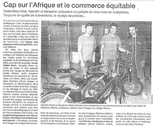 Ouest-France 22/06/2007