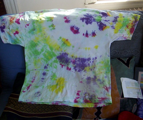 second tye-dye project: back
