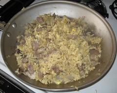 Prime Rib Garlic Fried Rice (arnold | inuyaki) Tags: leftovers garlic friedrice primerib