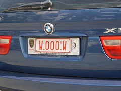 Wooow! (DeFerrol) Tags: plaque wow plate license bmw curiosa patente x5 dominio avistamiento matricula kennzeichen kentekenplaat dimmatriculation nummerplade