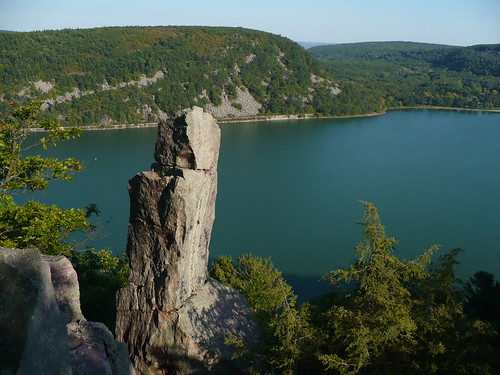 Devil's Lake from West Bluff