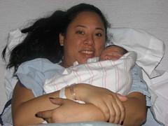 Jacky and mom