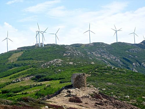 Eoliennes du Cap Corse