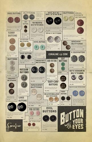 Coraline vintage buttons!