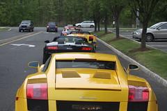 IMG_1023 (Lamborghini obsessed) Tags: paul lamborghini harrington murcielago gallardospyder 5604 lp640 valentinobalboni lp640roadster gallardocoupe dreamcarlegendstour