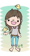 小小寵物鳥