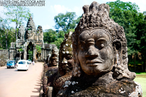 Guardian of Angkor Thom