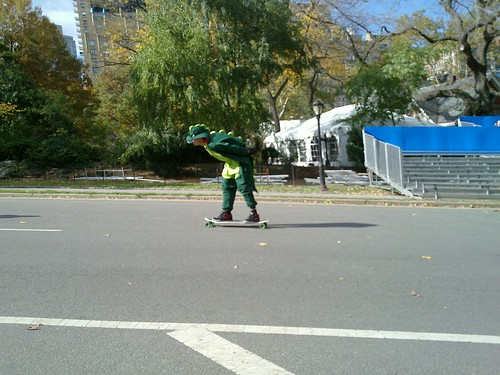 Dinosaur in Central Park