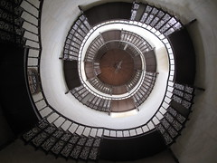 RGEN - Jagdschloss Granitz / Hunting Castle Granitz: Spiral Stairs (Andra MB) Tags: holiday castle germany island deutschland ada insel alemania ddr chateau rgen schloss kale germania 2010 isola schinkel brd le baltica rugen granitz insula rdg concediu jagdschloss almanya balticsea mareabaltic jagdschlossgranitz huntingcastlehunting