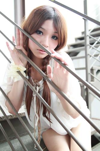 [フリー画像] 人物, 女性, アジア女性, 201104030300