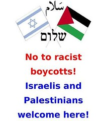 No to racist boycotts