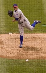 Will Ohman (Jonathan Lurie) Tags: chicago d50 nikon baseball cubs ballpark chicagocubs mlb uscellularfield americanleague sportsbook ohman supershot willohman
