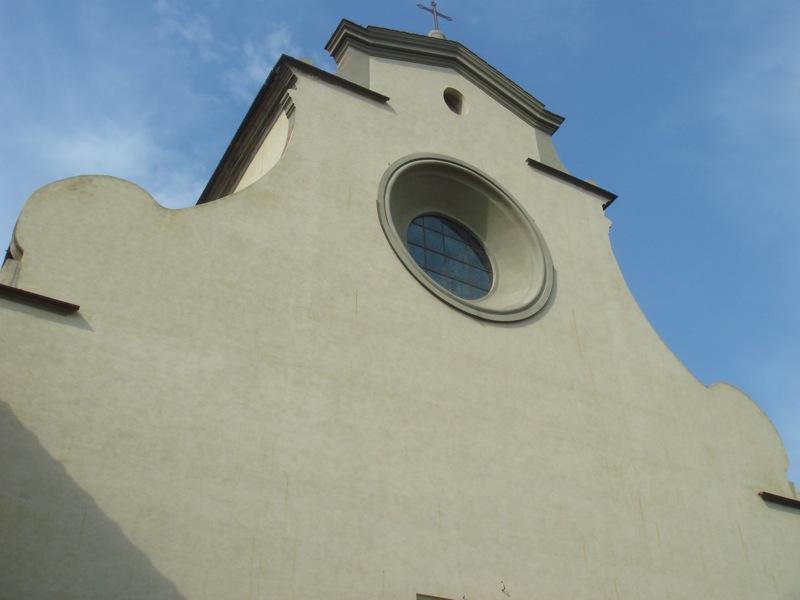 The church of Santo Spirito in Florence