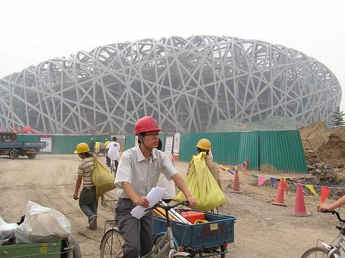 obras del estadio olímpico