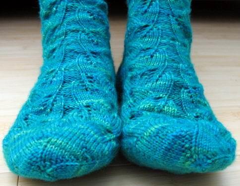 Lorri's toes