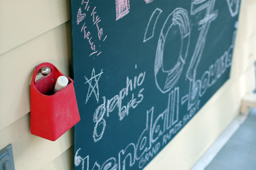Back Porch Chalkboard