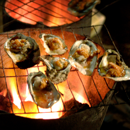Yangshuo Grilled Oysters
