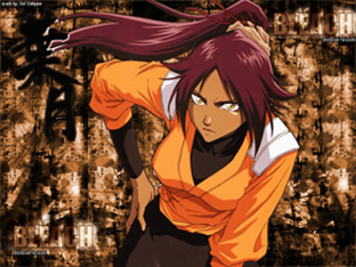 Bleach - Yoruichi wallpaper