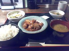 若鶏とキャベツの味噌煮(たしか)
