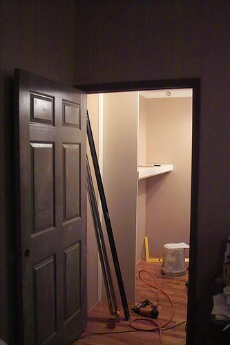 Computer Room Closet