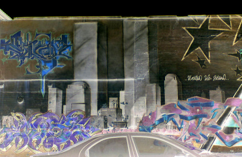 Bronx 9/11 Graffiti Memorial