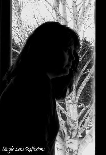 Self Portrait Silhouette
