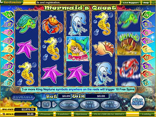Mermaid's Quest slot game online review