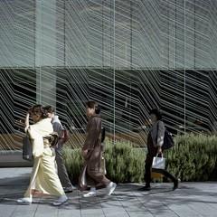 kimono walk (TAT_hase!) Tags: tlr kodak seagull kimono portra    160nc 4a107