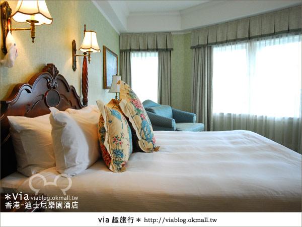 【香港住宿】跟著via玩香港(4)~迪士尼樂園酒店(外觀、房間篇)30